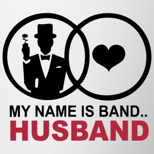 My name is Band..Husband Tazze & Accessori - Tazze bicolor