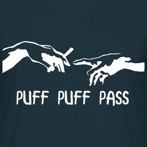 Puff Puff Pass Michelangelo T-Shirts - Men's T-Shirt