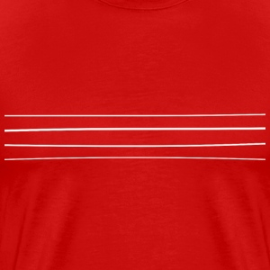 Re-entrant Mens Red Tshirt - Men's Premium T-Shirt