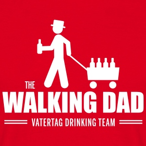 walking dad vatertag T-Shirts - Männer T-Shirt