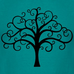 magical tree nature T-shirts - Herre-T-shirt