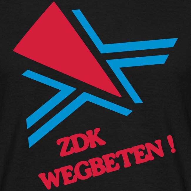 ZDK WEGBETEN! Shirt