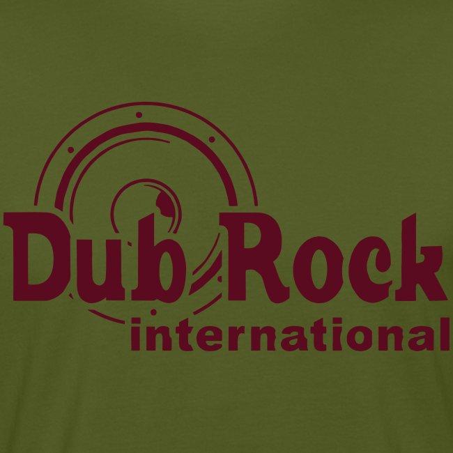 Dub Rock international (dark red on green)