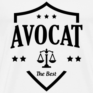 Avocat / Avocate / Justice / Tribunal / Police Tee shirts - T-shirt Premium Homme