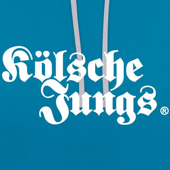 "Kölsche Jungs ""Hoodie"" classic  blau"