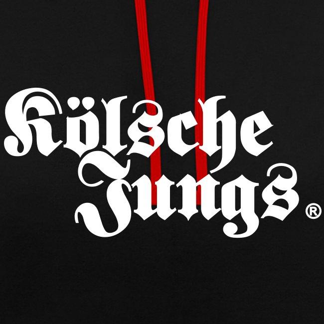 """Kölsche Jungs """"Hoodie"""" classic schwarz"""