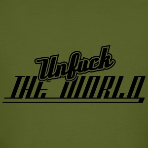 Unfuck The World T-Shirts - Männer Bio-T-Shirt