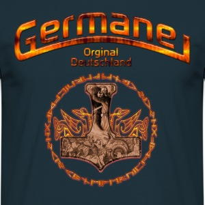 Germane Germany  - Männer T-Shirt