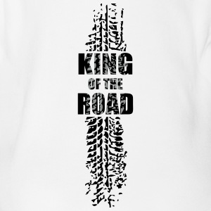 King of the road - Baby Bio-Kurzarm-Body