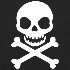 tête de mort pirate Sweat-shirts - Sweat-shirt à capuche unisexe