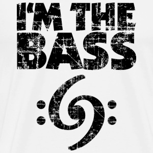 I'm the Bass 69 Vintage Black (FR) Tee shirts - T-shirt Premium Homme