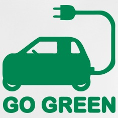 GO GREEN ~ DRIVE ELECTRIC CARS Shirts