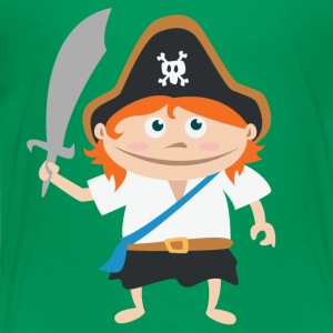 pirate kid T-Shirts - Kinder Premium T-Shirt