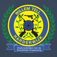 Ontwerp ~ Groot T-shirt met logo hoog achterop