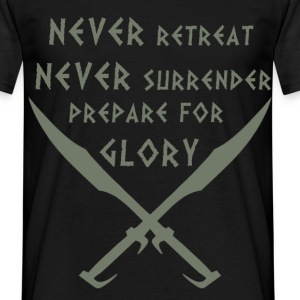 Prepare for Glory-Spartan - Men's T-Shirt