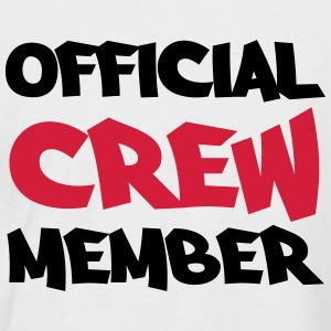 Official crew member T-Shirts - Men's Baseball T-Shirt