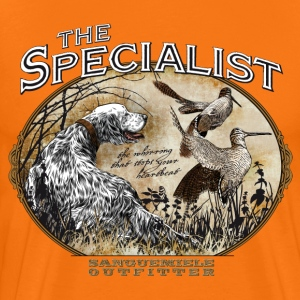 english setter specialist T-Shirts - Men's Premium T-Shirt
