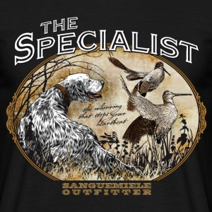 english setter specialist Tee shirts - T-shirt Homme