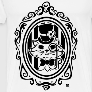 Chat style victorien Tee shirts - T-shirt Premium Homme