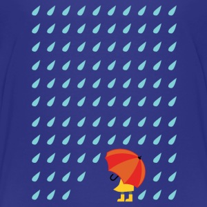 Royal blue rain Shirts - Kids' Premium T-Shirt