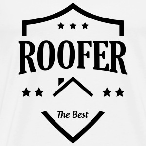 Roofer / Roof / Roofing / Couvreur / Dachdecker T-Shirts - Men's Premium T-Shirt