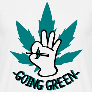 Going Green T-shirts - T-shirt herr