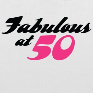 50 years old and fabulous! Bags & Backpacks - Tote Bag