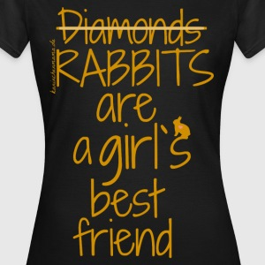 Rabbits are T-Shirts - Frauen T-Shirt
