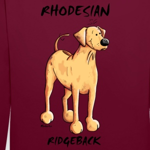 Rhodesian Ridgeback Chien Sweat-shirts - Sweat-shirt contraste