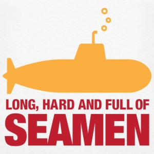 Long, hard and full of seamen Tops - Women's Premium Tank Top