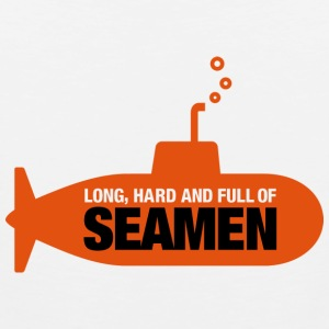 Long, hard and full of seamen Tank Tops - Men's Premium Tank Top