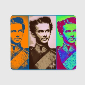Ludwig II 3 times Sonstige - Mousepad (Querformat)
