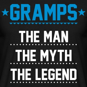 Gramps - The Man The Myth The Legend T-Shirts - Men's T-Shirt