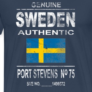 Sweden - Vintage Look T-Shirts - Men's Premium T-Shirt