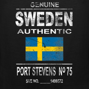 Sweden - Vintage Look Tank Tops - Men's Premium Tank Top