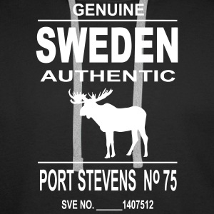 Sweden Moose Hoodies & Sweatshirts - Men's Premium Hoodie
