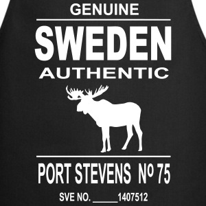 Sweden Moose  Aprons - Cooking Apron