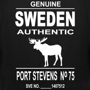 Sweden Moose Tank Tops - Men's Premium Tank Top