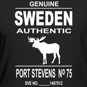 Sweden Moose T-shirts - Organic damer