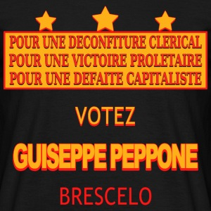 votez guiseppe peppone Tee shirts - T-shirt Homme
