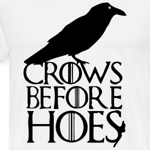 CROWS BEFORE HOES T-Shirts - Männer Premium T-Shirt