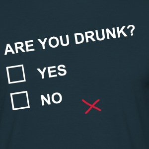 ARE YOU DRUNK? T-shirts - Herre-T-shirt