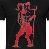 Design ~ Wily Bo Walker - 'Walking with the Devil' Men's Tee