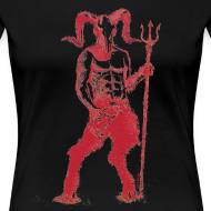 Design ~ Wily Bo Walker - 'Walking with the Devil' Women's Tee