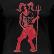 Design ~ Wily Bo Walker - 'Walking with the Devil' Women's Tee