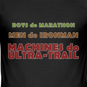 Machines do Ultra-Trail - Tee shirt près du corps Homme