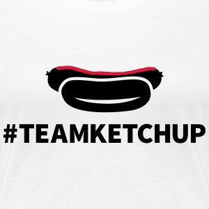 Team Ketchup T-Shirts - Frauen Premium T-Shirt