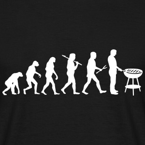 Evolution Mens BBQ - Männer T-Shirt