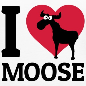 I love Moose Top - Canotta premium da donna