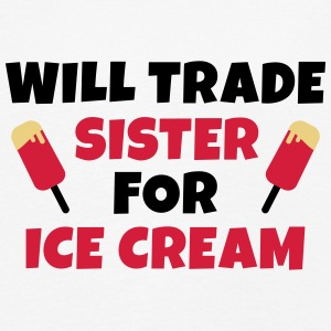 Will trade sister for ice cream Langarmshirts - Kinder Premium Langarmshirt